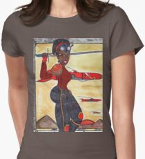 The Lady and The Airships Womens Fitted T-Shirt