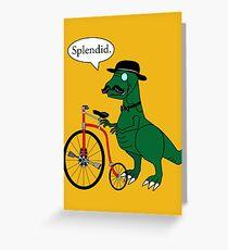 Splendid Find Greeting Card