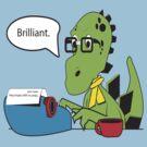 Hipsterasaurus by slugamo