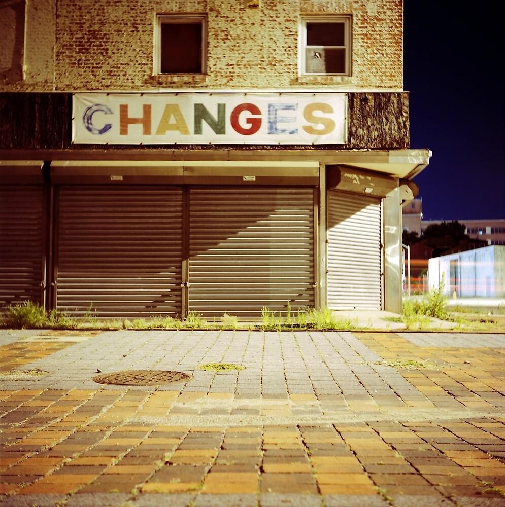 CHANGES by Daniel Regner