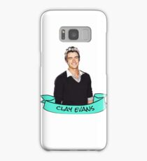 clay evans flower crown sticker Samsung Galaxy Case/Skin