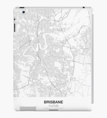 Brisbane, Australia, Minimalist Map iPad Case/Skin