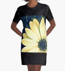 African Daisy Graphic T-Shirt Dress