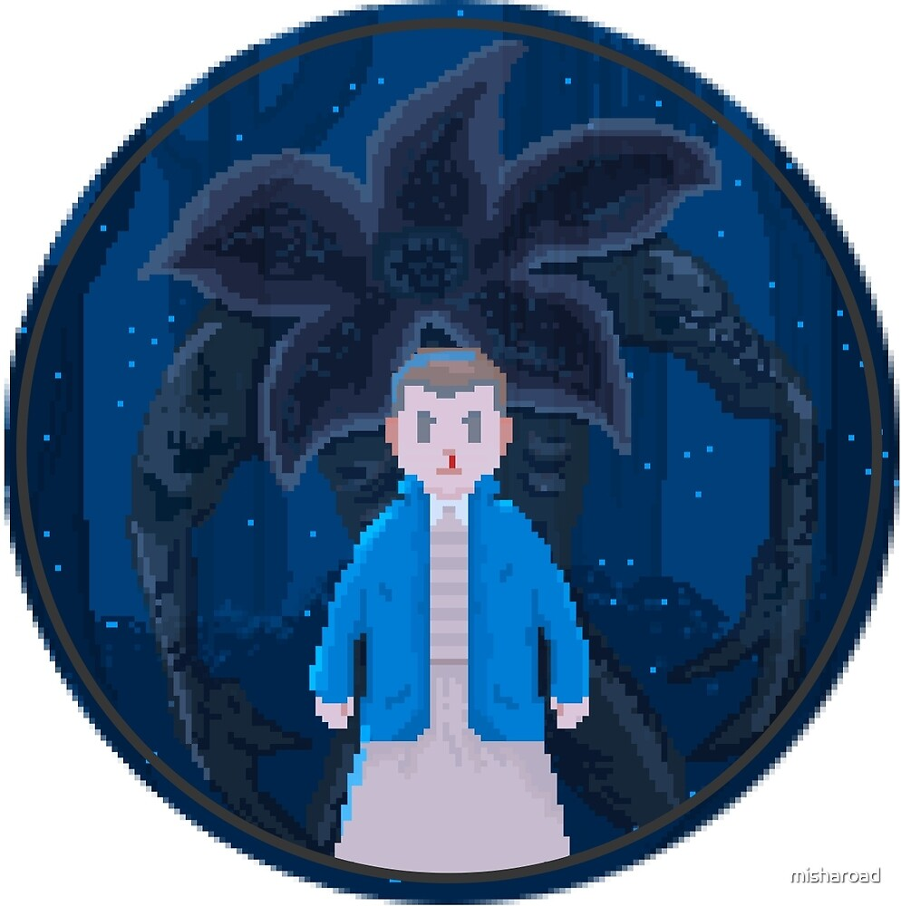 Eleven - Stranger Things Pixel by misharoad