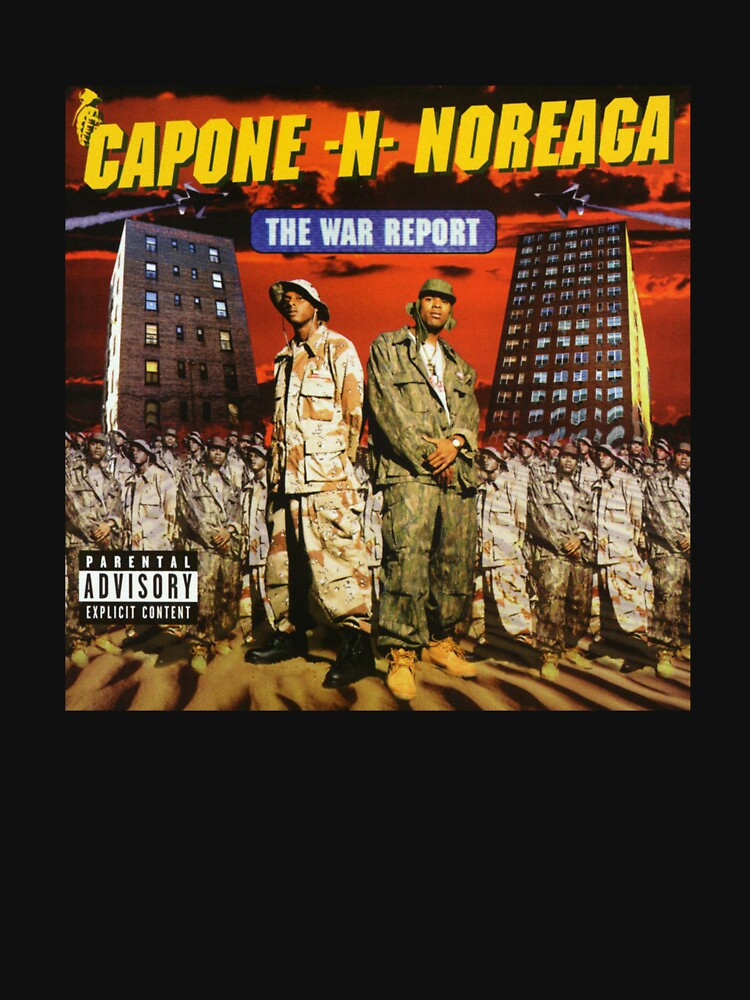 Capone and Noreaga The War Report Cover Art Supreme by SkiMask