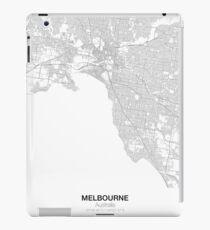 Melbourne, Australia, Minimalist Map iPad Case/Skin