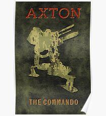 Axton Vintage Borderlands Graphic Poster