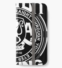 Asking Alexandria  the black album tshirts and hoodies iPhone Wallet/Case/Skin
