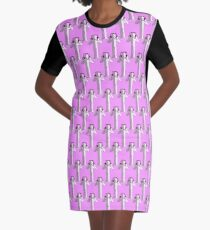 Step Switchers Graphic T-Shirt Dress