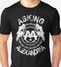 Asking Alexandria  the black album 2 tshirts and hoodies Unisex T-Shirt
