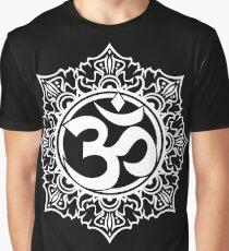 Ohm Symbol Meditation Symbol  Graphic T-Shirt
