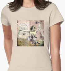 Lucy in the Sky with Diamonds 368 Womens Fitted T-Shirt