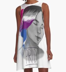 Biromantic Asexual A-Line Dress