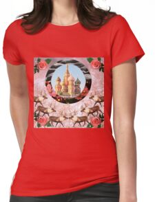 Winter Love Womens Fitted T-Shirt