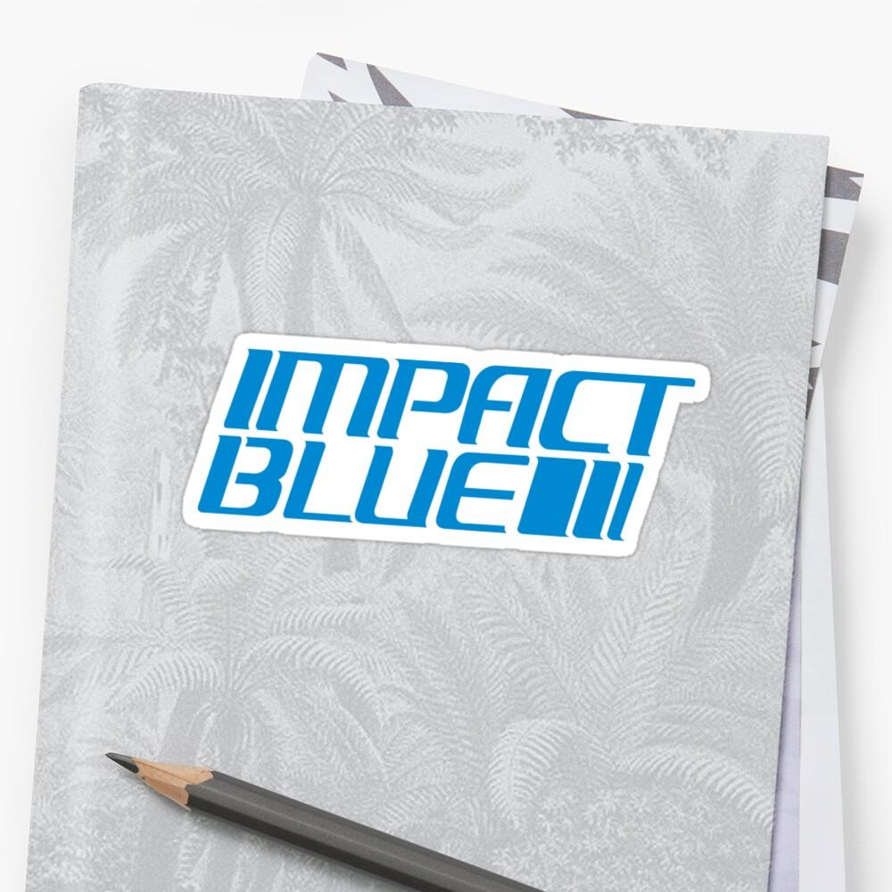 Impact Blue by dsgcreations