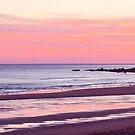 Sunrise Over Pease Bay by Lynne Morris