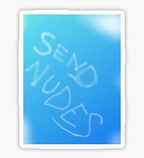 Send Nudes - skywriting Sticker