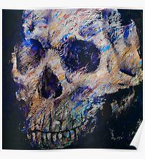 Ultraviolet Skull Poster