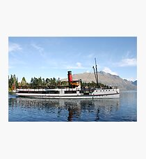 New Zealand Steamship Photographic Print