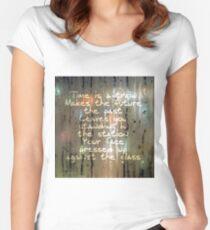U2 zoostation - moisture Women's Fitted Scoop T-Shirt