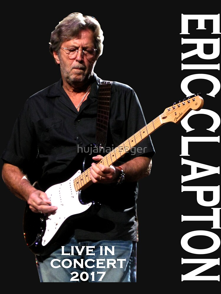 black poster concert music clapton style by hujanairseger