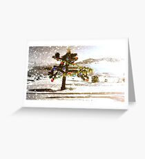 U2 Joshua Tree Christmas Greeting Card