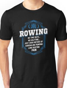 2000 Meters Rowing Unisex T-Shirt