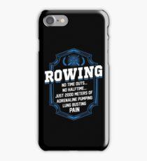 2000 Meters Rowing iPhone Case/Skin