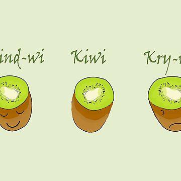 Kiwi Trio by Elbas