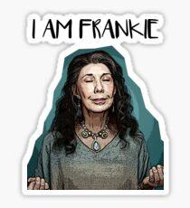 Frankie Bergstein Sticker Sticker