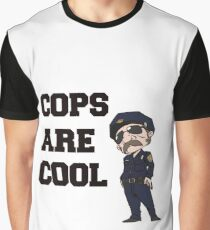 Cops Are Cool Graphic T-Shirt