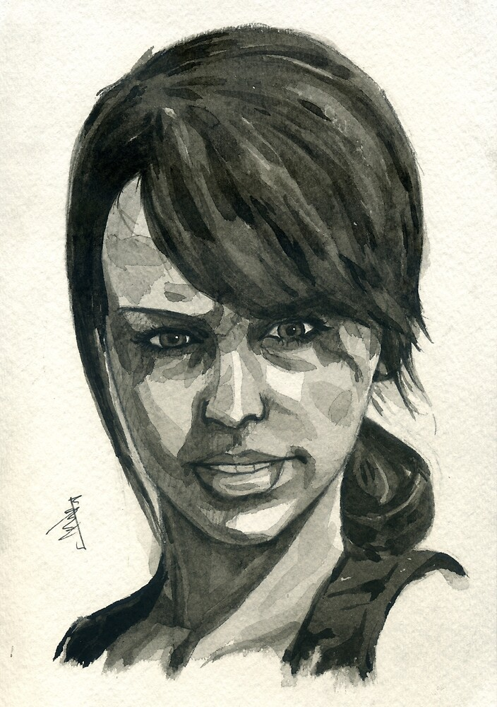 Quiet from Metal Gear Solid 5: The Phantom Pain by taijmedia