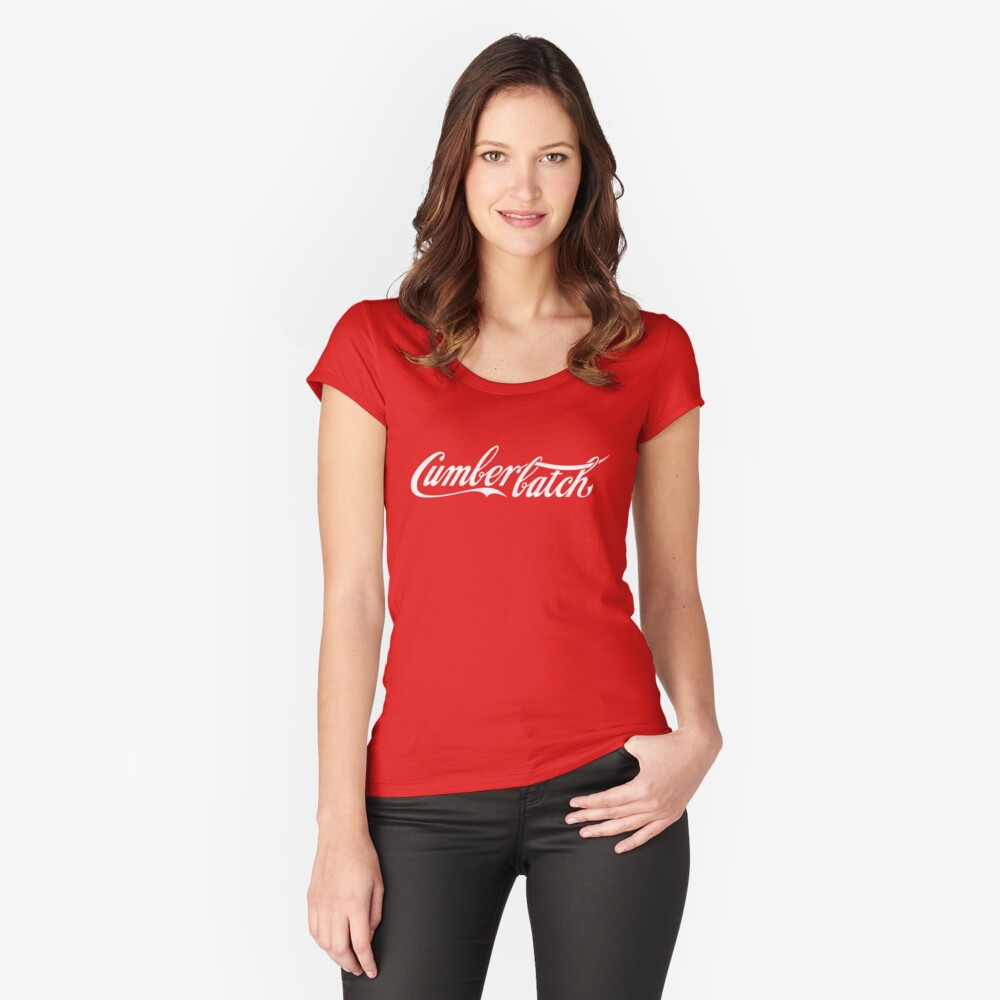 Cumberbatch Women's Fitted Scoop T-Shirt Front