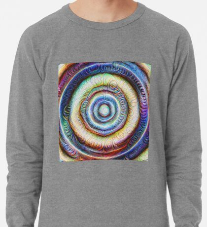 Ripples #Foamed #DeepDream Lightweight Sweatshirt