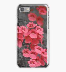 Salmon Pink Flowers iPhone Case/Skin