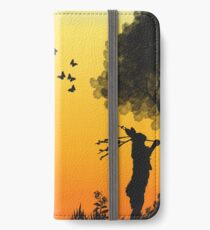 Spring Hares iPhone Wallet