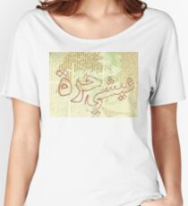 Live Free Arabic Women's Relaxed Fit T-Shirt