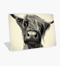 Highland Cow Laptop Skin