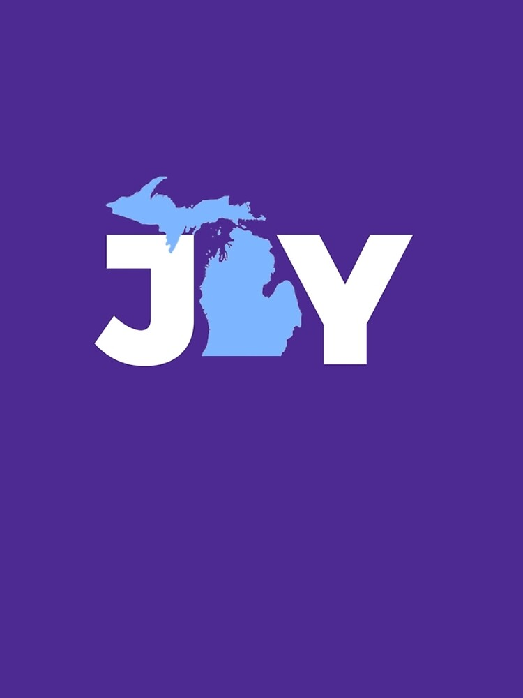 Joy Michigan Christmas State Pride Graphic  by AlwaysAwesome