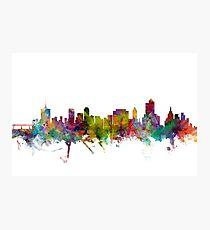 Tulsa Oklahoma Skyline Photographic Print