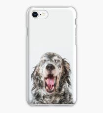 """Lola English Setter """"Yawn"""" phone case iPhone Case/Skin"""