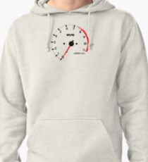 NISSAN N カ ン ン ン (NISSAN skyline) R32 NISMO rev counter Pullover Hoodie