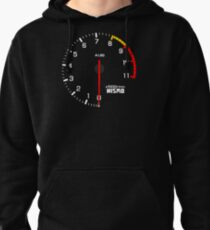 NISSAN N カ イ ン ン (NISSAN Skyline) R33 NISMO rev counter Pullover Hoodie