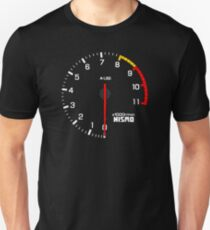 NISSAN スカイライン (NISSAN Skyline) R33 NISMO rev counter Unisex T-Shirt