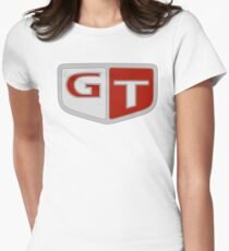 NISSAN N カ ン ン (NISSAN Skyline) GT logo Women's Fitted T-Shirt
