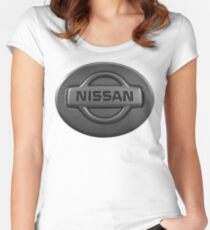 NISSAN Women's Fitted Scoop T-Shirt