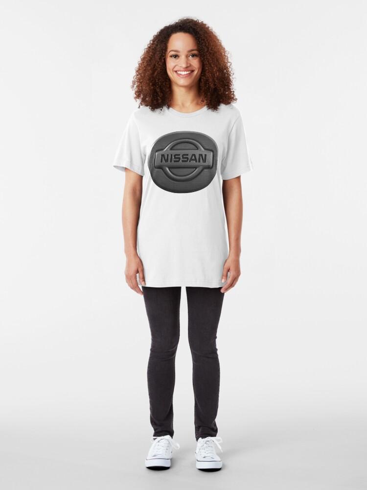 Alternative Ansicht von NISSAN Slim Fit T-Shirt