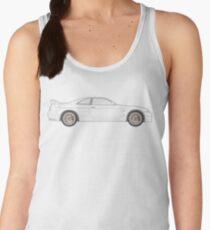Nissan Skyline R33 GT-R (side) Women's Tank Top