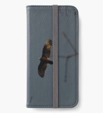 Buzzard Returning To Roost iPhone Wallet