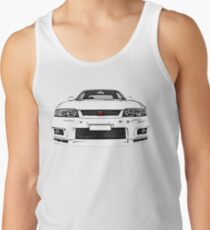 Nissan Skyline R33 GT-R (front) Tanktop